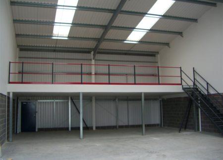 Structural Mezzanine Floor System