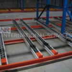 Pallet Live Storage –Flow Rack / Push Back