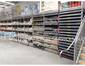 Pigeon Hole Racking –Pipe Storage